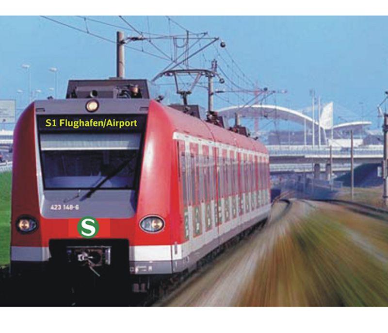 Flughafen München Künftig Auch Auf Der Schiene Bestens