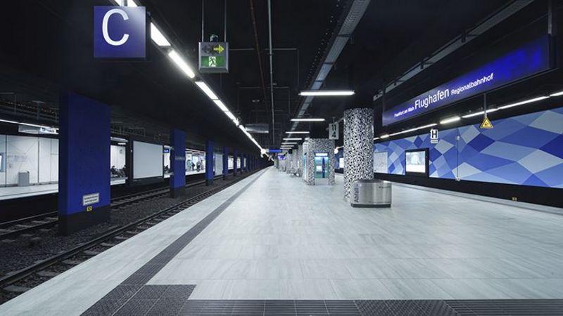 Umbau Des Regionalbahnhofs Am Frankfurter Flughafen Abgeschlossen Dmm Der Mobilitatsmanager